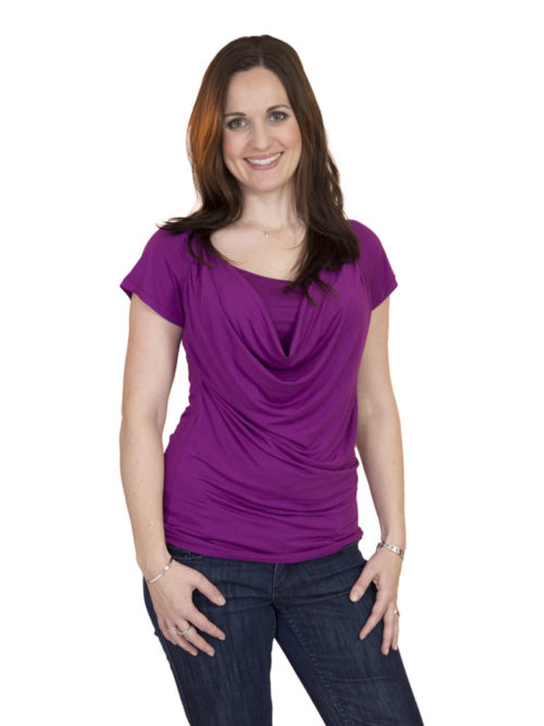 Carmen Cowl Neck Breastfeeding Top