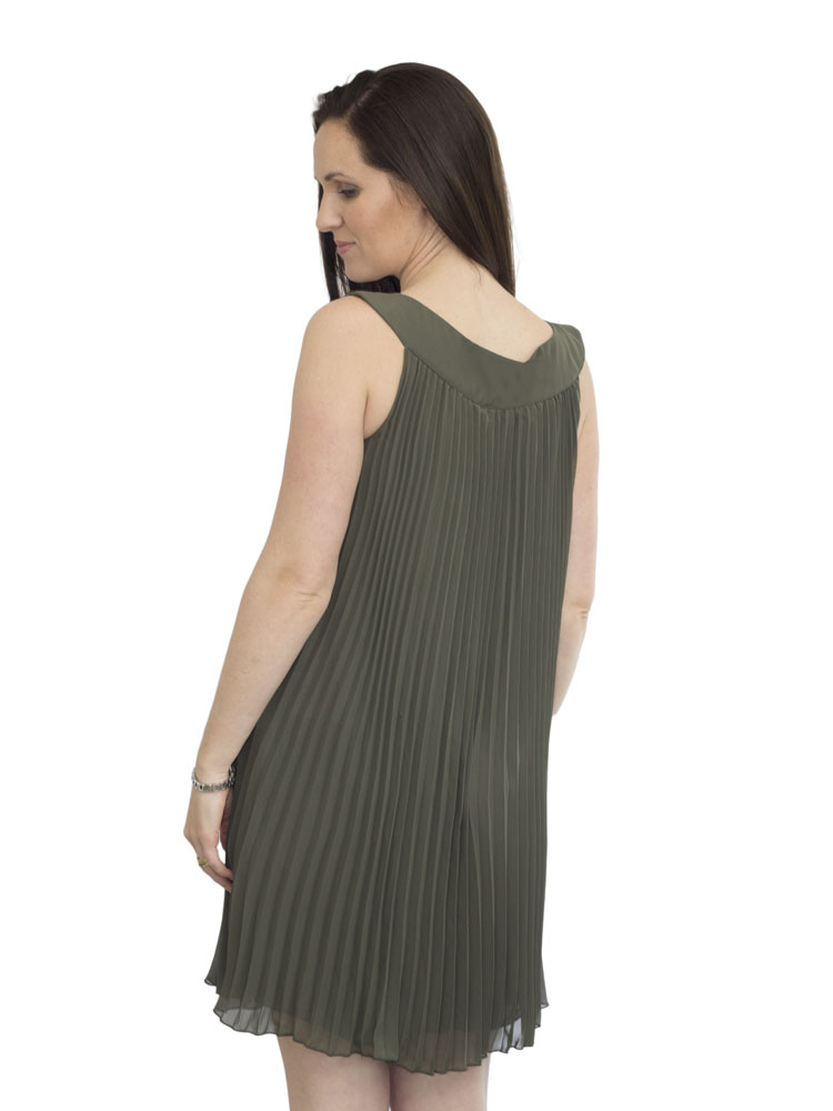Back view of Donna Dress