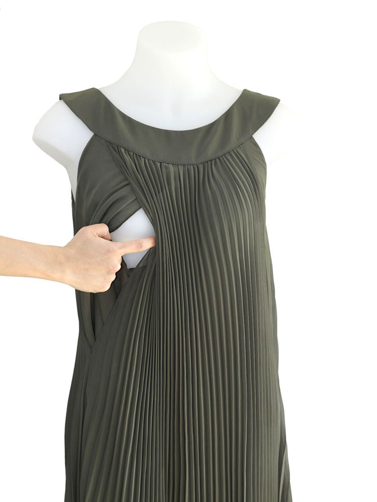 Breastfeeding access of Donna Dress