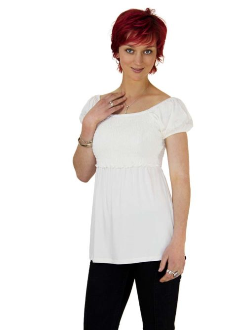 Heidi Peasant Smocked Top