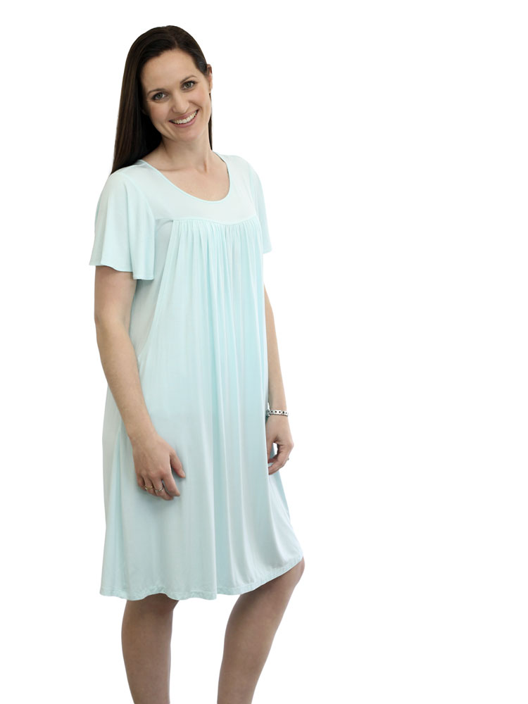 Jade Bamboo Nursing Nightdress
