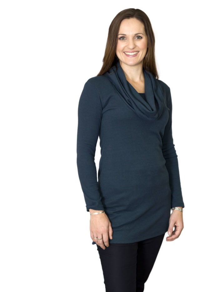 Madison Cowl Neck Nursing Jumper