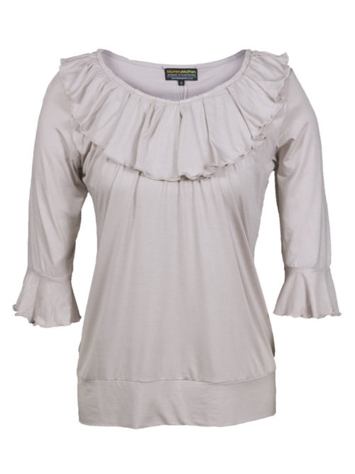 Penelope Nursing Top in ecru